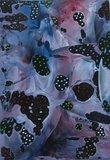 Encaustic Magic Bubble Star  Zwart 6 stuks A4_7