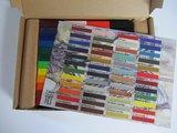 00 Set van alle 48 kleuren wasblokjes in een doosje met kleurenkaart!_20