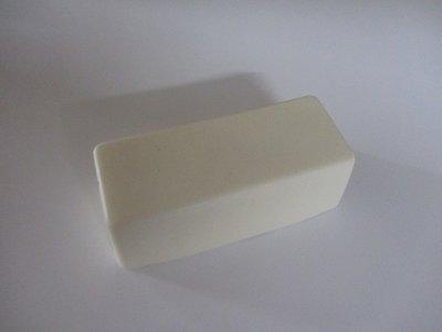 000Encaustic medium blok WIT 200 gram