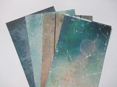 Collage papier pakketje nr.1