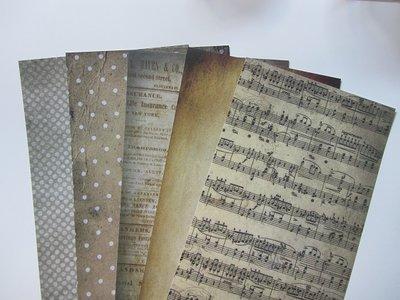 Collage papier pakketje nr.2
