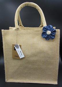 Jutte tas met bloem