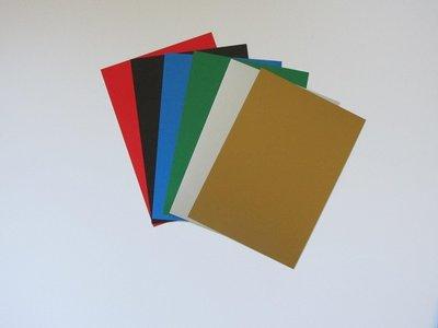 02Nieuwe Kleuren! Encaustic Gekleurde kaarten mix A5 24 stuks