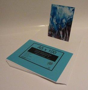 04 Encaustic schilderkaarten Wit A5 100st