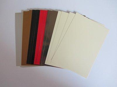 0 Encaustic gekleurd papier A6