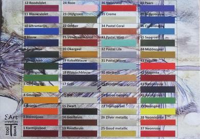 0000 Kleurenkaart