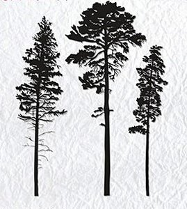 Clear Stamps Bomen
