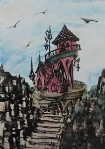 Clear Stamps Fairy Tale Castle