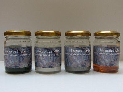 Encaustic Shellac 50 gram Set1